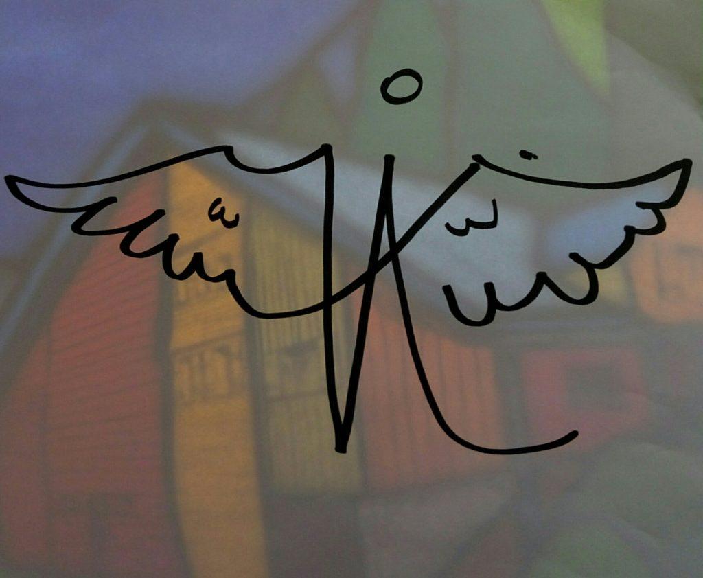 vitrail de l'Ange Marseille logo